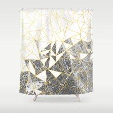 Ab Marb Shower Curtain