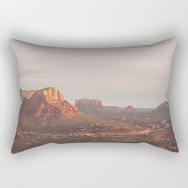 Sedona Arizona print. Vortex No. 3 Rectangular Pillow