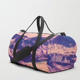 closeup desert at Grand Canyon national park, USA Duffle Bag