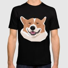 my dog Mens Fitted Tee Black 2X-LARGE