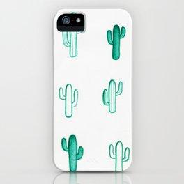 Green Cactus iPhone Case
