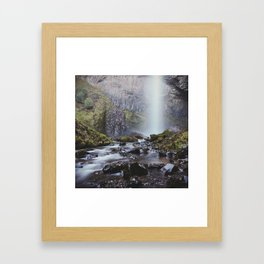 Latourell Falls, Columbia River Gorge | Oregon Framed Art Print