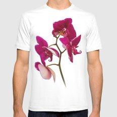 ORCHID Mens Fitted Tee MEDIUM White