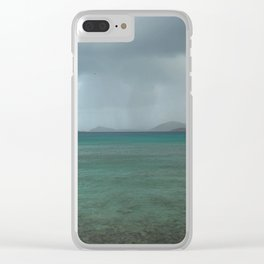 Island Storm Clear iPhone Case