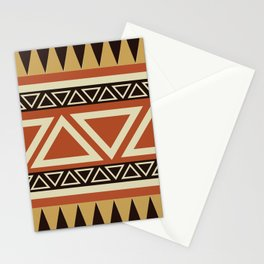 African Tribal Pattern No. 22 Stationery Cards