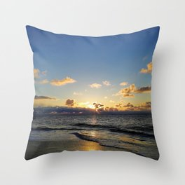 smell the sea and feel the sky Throw Pillow