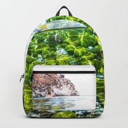 PARADISE BEACH IN MANI Backpack