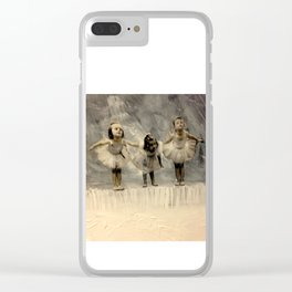 Tiny dancers Clear iPhone Case