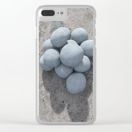 Textures Clear iPhone Case