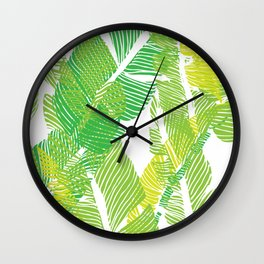 Carved Jungle #society6 #decor #buyart Wall Clock