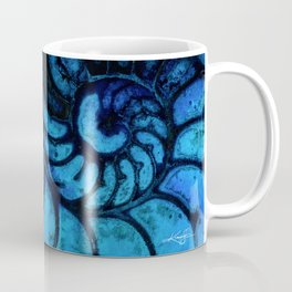 Nautilus Shell No. 987 by Kathy Morton Stanion Coffee Mug