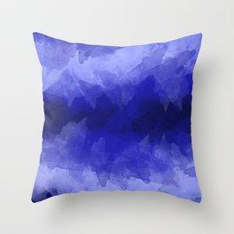 Abstract cozy winter 12 Throw Pillow