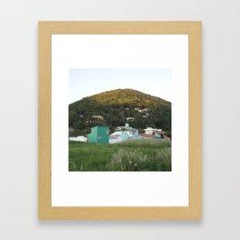 ilha sul, floripa Framed Art Print