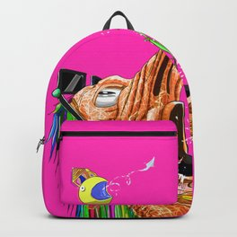 Edible Arrangment Original Painting Backpack