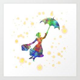 Mary Poppins - The Magical Nanny Kunstdrucke