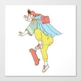 Kabuki Skate Canvas Print