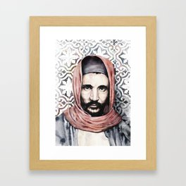 Baba Sali - Rabbi Abuhatzeira Framed Art Print