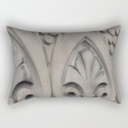 Architectural wall detail Old Montreal Rectangular Pillow