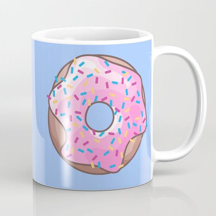 Pink Strawberry Donut Coffee Mug