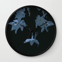 Dead Flowers Wall Clock
