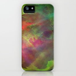 Green Planet iPhone Case