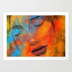 Digital Pain Art Print