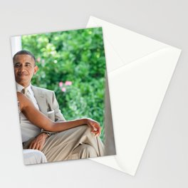 United States President Barack Obama and First Lady Michelle Obama Stationery Cards