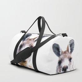 Kangaroo Portrait Duffle Bag