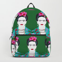 Flowers and Frida Backpack