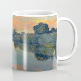 Václav Radimský (1867-1946) River Nooks Impressionist Landscape Oil Painting Coffee Mug