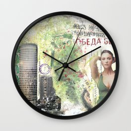 City Visons Wall Clock