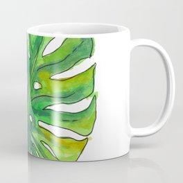 Monstera leaf Coffee Mug