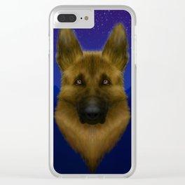 Mallku's Nite Clear iPhone Case