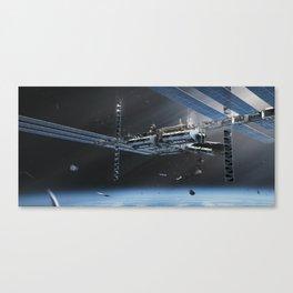 Feral Orbit - The Station Canvas Print