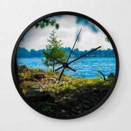 Canadian Wilderness - Kawartha Lakes Wall Clock