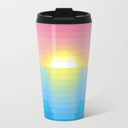 Sunset ~ strips Travel Mug