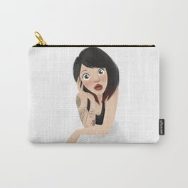 Tattoed Arm Carry-All Pouch