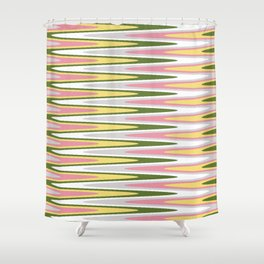 Waves of Color Shower Curtain