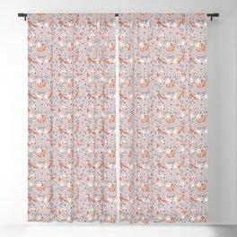Fox pattern Blackout Curtain