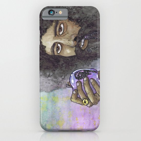 """Reggie Watts"" by Cap Blackard iPhone & iPod Case"