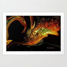 Fish From The Outer Limits Art Print