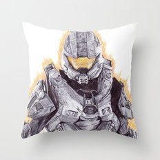 Halo Master Chief Throw Pillow