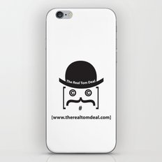 therealtomdeal logo iPhone & iPod Skin