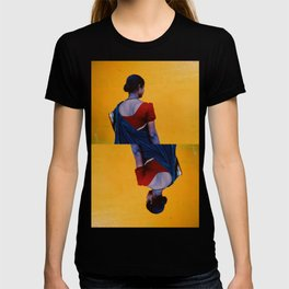 Red, Blue and Yellow T-shirt