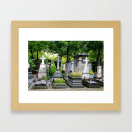 Long forgotten in Montparnasse Framed Art Print