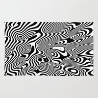trippy Area & Throw Rugs featuring Trippy Background by Danny Ivan