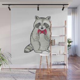 Raccoon Wall Mural