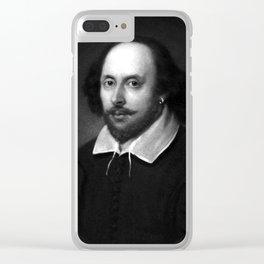 William Shakespeare Clear iPhone Case