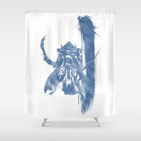 final fantasy Shower Curtains featuring FINAL FANTASY XII by DrakenStuff+
