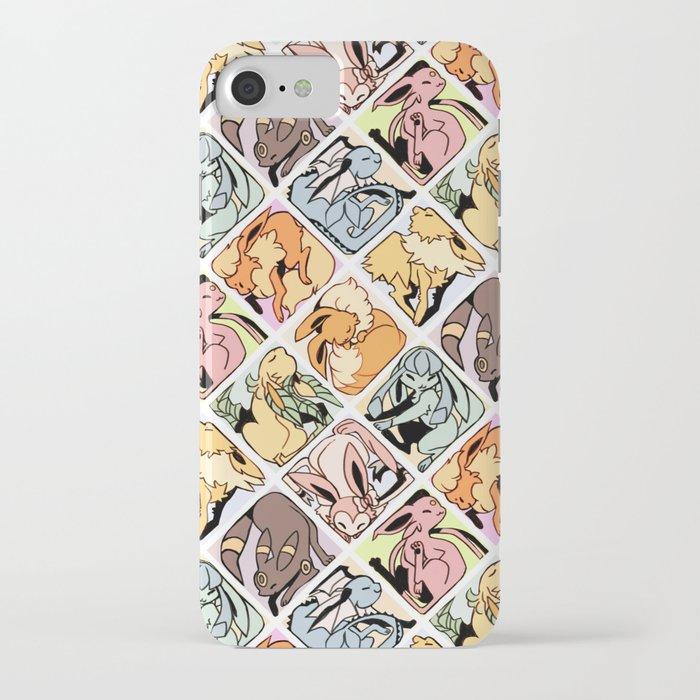 eeveelution mosaic iphone case